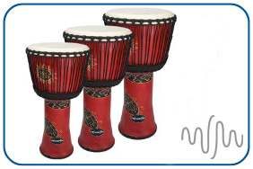 Medium Djembe drum